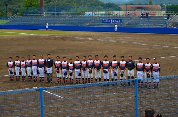 第5回ミズノ旗日本少年野球中四国秋季大会広島県支部予選2回戦