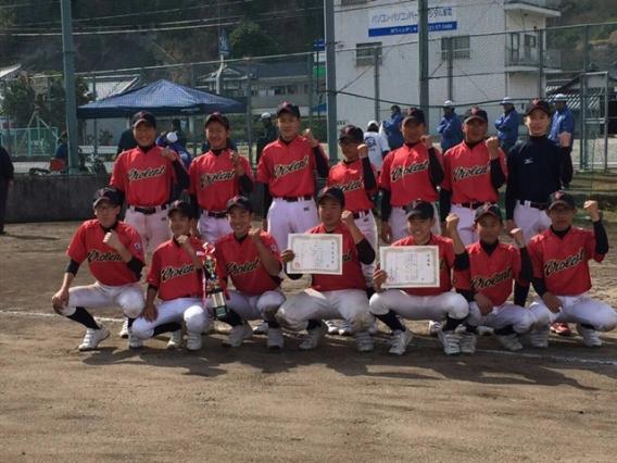 第3回瀬戸内シニア旗シャークス杯Bブロック準優勝